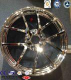O carro de competência forjou bordas da roda da liga de alumínio