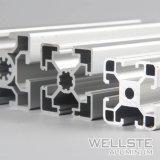 Personalizar 6063 V-Slot perfil de aluminio con ranura en T para la industria de la línea de producción