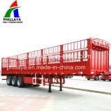 Bulkladung/Vieh/Pferden-LKW-halb Schlussteil-Viehbestand transportieren