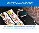 32/55/65 di pollice fissa il prezzo della Tabella interattiva della barra di multi tocco del LED Multitouch per il ristorante