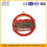 Custom высококачественных цинк сплав интересные металлические медаль