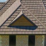Los materiales de construcción plaqueta asfáltica Teja de acero recubierto de piedra