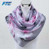 Chiffon ScarfジョーゼットShawls女性の優雅な女性スカーフの絹のスカーフ