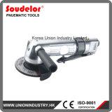 Angle de l'air de 5 pouces d'une meuleuse Meuleuse pneumatique outil machine de meulage