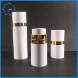 Alle weiße luftlose Plastikpumpen-kosmetische Haustier-Flasche