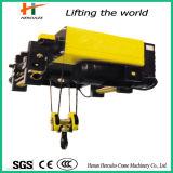 Fuss-Eingehangene elektrische Drahtseil-Hebevorrichtung