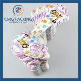 O PVC branco um conjunto de jóias de impressão a cores (CMG-078)