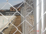 저희 시장 기준 6X10FT 직류 전기를 통한 방호벽 철망사 체인 연결 임시 검술