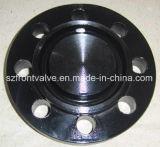 Bride borgne modifiée de l'acier du carbone A105 (garniture de RTJ)