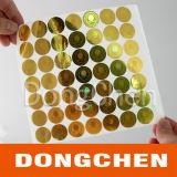 Sticker van het Hologram van de douane de Waterdichte Zelfklevende Geschikt om gedrukt te worden anti-Valse