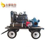 jeu diesel de pompe à l'eau 90kw avec la double pompe aspirante du flux 792m3/H élevé