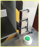 De gas-hydraulische Cilinder van de Druk hangt het In reliëf maken van de Markering en Scherpe Machine