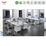Benen 4 van het Metaal van het Ontwerp van Hotsale Unieke het Werkstation van het Bureau van de Persoon