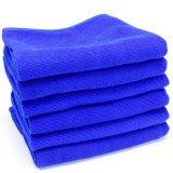 30*70cm Bleu Chiffon de nettoyage en microfibre
