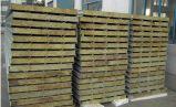 Зеленая стальная панель сандвича Rockwool для строительных материалов с хорошим качеством