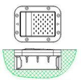 Vite prigioniera solare di alluminio della strada dell'occhio di gatto (HW-RS14)