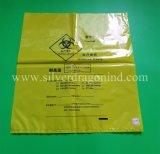 Wegwerfbeutel des Zoll-HDPE/LDPE/PP Biohazard, medizinischer Abfall-Beutel