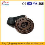 Medaille Van uitstekende kwaliteit van het Metaal van de Legering van het Zink van de douane de Interessante