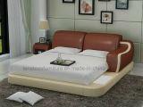 Meubles neufs européens de chambre à coucher des modèles Lb8803 avec l'éclairage LED