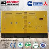 이디오피아를 위한 80kw 100kVA Denyo 유형 침묵하는 닫집 디젤 엔진 발전기 가격