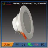 5 pollici 12W 110degree il LED messo alluminio SMD Office&Conference giù si illuminano
