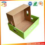 Документ фрукты упаковочные ящики из гофрированного картона растительного материала с крышки багажника .