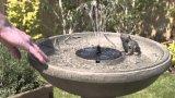 Alta eficiência flutuante Mini-bomba de água solares para Pond Fountain