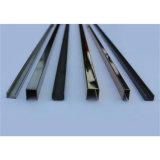 Profilo della Manica del testo fisso dell'acciaio inossidabile AISI201 per la protezione di vetro o d'angolo