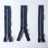 Fermeture à glissière métallique en alliage de bonne qualité pour Jeans