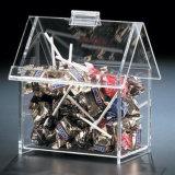 집 모양 아크릴 사탕 저장 전시 상자
