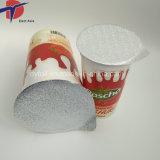 Coperchi di plastica della stagnola della tazza del yogurt