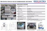 2018 sauvagement utilisé Machine à broder Tajima tête simple point de chaînette Machine à broder informatisée 15 aiguilles