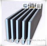 Anexando à alvenaria ou concreto gesso 100% a impermeabilização de 6mm*600mm*1200mm apoiante lado a bordo para Banheiras e Chuveiro
