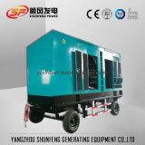 570kw de energía eléctrica de remolque silencioso Generador Diesel con motor Cummins