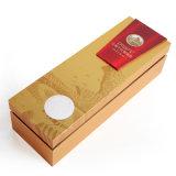 Custom Дизайн логотипа золотой печати бумага картон вино ликер подарочной упаковки фальцовки