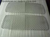 Parti di metallo d'anodizzazione lavoranti personalizzate di CNC/parti di plastica con ISO9001