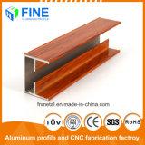 Алюминиевых профилей формы для продажи с помощью деревянных передачи в Китае