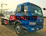 4X2 폐수 흡입 트럭, 10m3 청소 흡입 유조 트럭