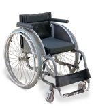 Sedia a rotelle manuale di sport e di corsa della sedia a rotelle di svago Med-Ls720lq-36 e di sport