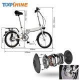 Libertar a mão direita suavemente de bicicletas eléctricas de recolhimento do sistema de assistência