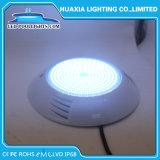LED de isolados de resina Piscina debaixo de luz com 2 anos de garantia