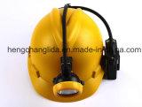 La cabeza de la minera subterránea LED Lámpara Minera, lámpara de seguridad minera