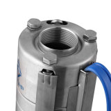 0.5HP fabricante vende todos os fios de aço inoxidável de poço fundo Multiestágio bomba submersível Bomba