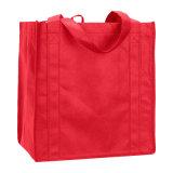 재생된 형식 쇼핑 비 길쌈된 식료품류 끈달린 가방 (YH-NWB070)