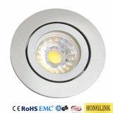 Aluminio basculante MR16/GU10 Accesorios Downlight Iluminación de techo