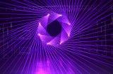 2W RGBのアニメーションのレーザー光線