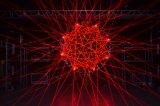 2W RGB Licht van de Laser van de Animatie