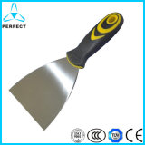 "3 ""Stainless Steel Rubber Handle Wall Putty"
