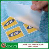 Qing Yi Peeling froide mylar blanc brillant Film PET pour l'autocollant