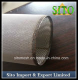 焼結させたステンレス鋼の編まれた金網フィルターかカートリッジフィルター